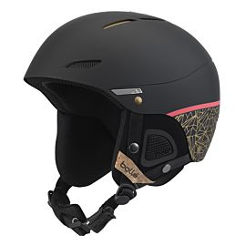 Bollé Juliet skihelm dames black rose gold