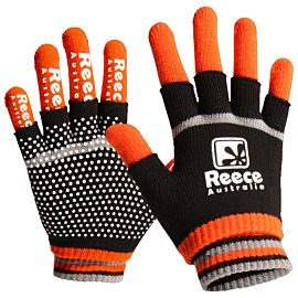 Reece Knitted Player 2 in 1 handschoenen senior oranje