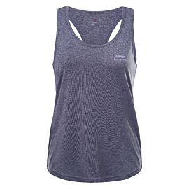 Li-Ning Filia Tops fitness tanktop dames lead grey