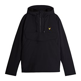 Lyle & Scott Warm Up anorak jack heren black