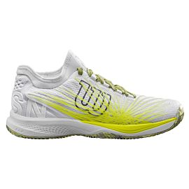 Wilson Kaos 2.0 SFT Clay WRS324410 tennisschoenen heren white safety yellow zijkant
