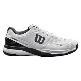Wilson Rush Comp Clay WRS324220 tennisschoenen heren white black zijkant