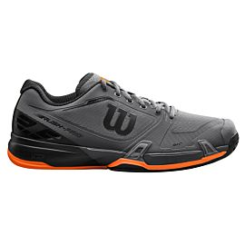Wilson Rush Pro 2.5 Clay  WRS324230 tennisschoenen heren magnet black shocking orange buitenkant