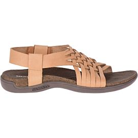 Merrell District Mahana sandalen dames natural tan