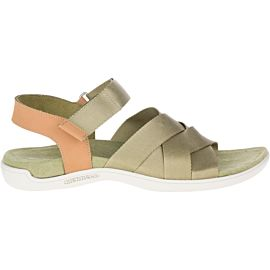 Merrell District Maya Slide sandalen dames olive drab