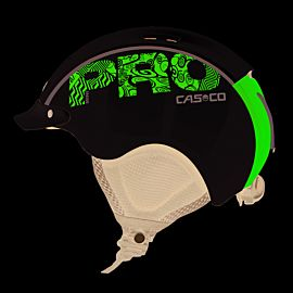 Casco Mini Pro helm junior white pink