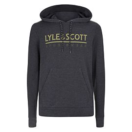 Lyle & Scott Fitness Pullover hoodie true black marl