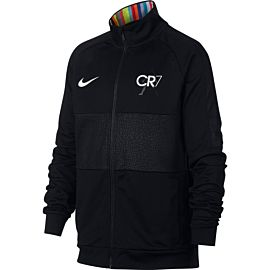 Nike Dri-FIT Mercurial CR7 trainingsjack junior black white