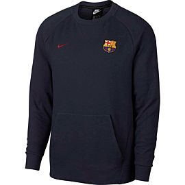 Nike FC Barcelona voetbaltrui heren obsidian heather noble red