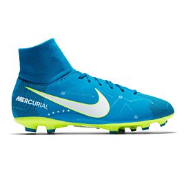 Nike Mercurial Victory VI Dynamic Fit Neymar FG 921486 voetbalschoenen junior blue orbit