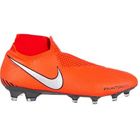 Nike Phantom Vision Elite DF FG AO3262 voetbalschoenen heren bright crimson university red gym red metallic silver