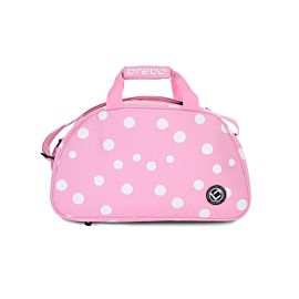 Brabo Shoulderbag Polka Dots hockeytas pink