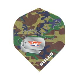Bull's Powerflite Dog Tag Camo flights