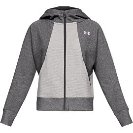 Under Armour Ottoman Graphic fleece vest dames gray