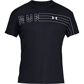 Under Armour UA Speed Stride Branded shirt heren black