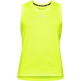Under Armour UA Qualifier tanktop heren geel