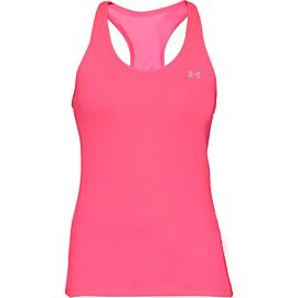 Under Armour UA HeatGear Armour Racer tanktop dames mojo pink