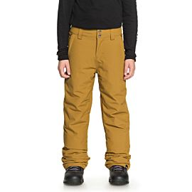 Quiksilver Estate skibroek junior golden brown