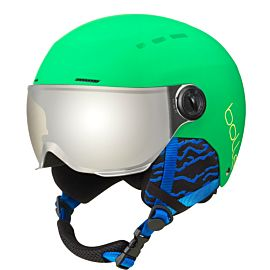 Bollé Quiz Visor skihelm junior matte green