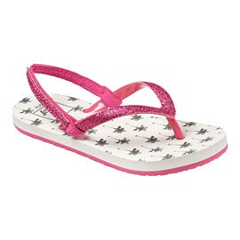 Reef Little Stargazer Print slippers junior black tropic