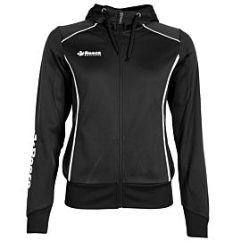 Reece Australia Core TTS Hooded Full Zip jack dames zwart