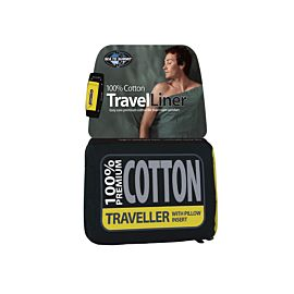 Sea to Summit Premium Cotton Liner Traveller lakenzak