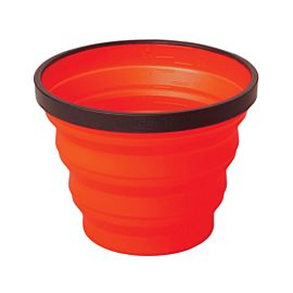Sea to Summit X-Cup opvouwbare beker red
