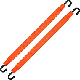 StrapGear allesbinder 2 pack 25 cm orange