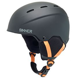 Sinner Poley helm junior matte black