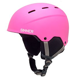 Sinner Poley helm junior matte pink