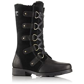 Sorel Emelie Lace winterlaarzen dames black