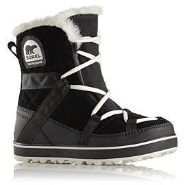 Sorel Glacy Explorer Shortie snowboots dames black