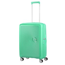 American Tourister Soundbox Spinner 67 koffer deep mint