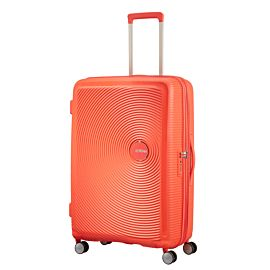 American Tourister Soundbox Spinner 67 koffer spicy peach