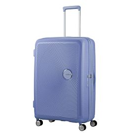 American Tourister Soundbox Spinner 77 koffer denim blue