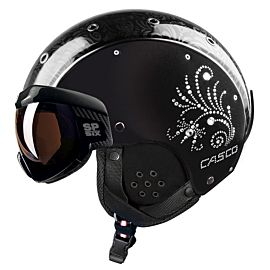 Casco SP-6 Visier Limited Carbon helm crystal black