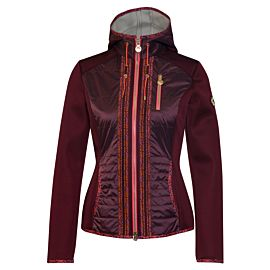 Sportalm Beau vest dames windsor wine