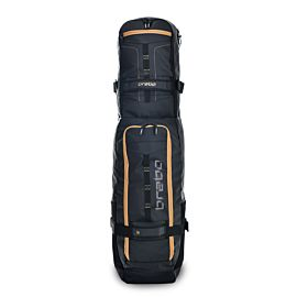 Brabo Stickbag TeXtreme hockeytas black gold