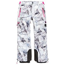 Superdry Snow skibroek dames frosted geo mountain