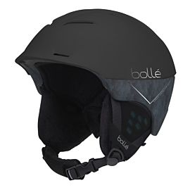Synergy skihelm matte black forest