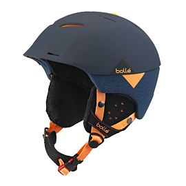 Bollé Synergy skihelm soft navy orange