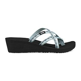 Teva Tanza Mush Mandalyn Wedge Ola 2 slippers dames chisolm gray mist