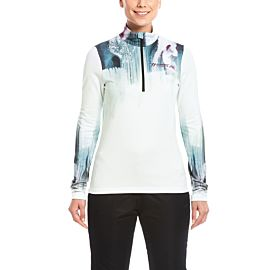 Maier Sports Tiril skipully dames white coloured