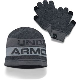Under Armour handschoenen en beanie junior
