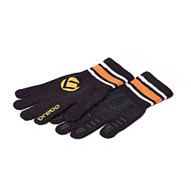 Brabo Wintergloves hockeyhandschoenen black orange