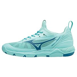 Mizuno Wave Luminous V1GC182096 indoorschoenen dames aqua splash blue sapphire