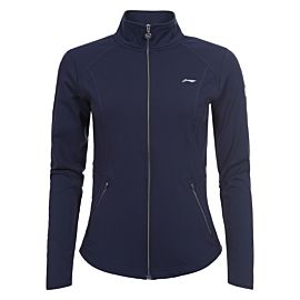 Li-Ning Valonia midlayer trainingsjack dames dark blue