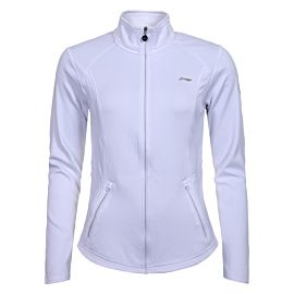 Valonia midlayer trainingsjack dames optic white