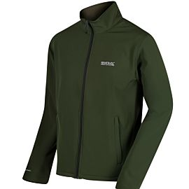 Regatta Cera III softshell jack heren race green