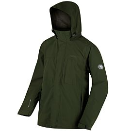 Regatta Northfield Stretch IV outdoor jack heren racing green